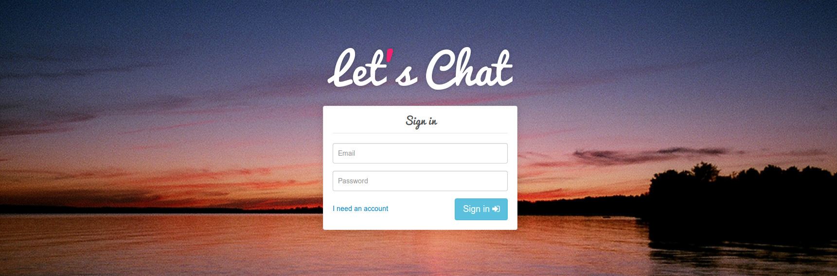 open source chat app